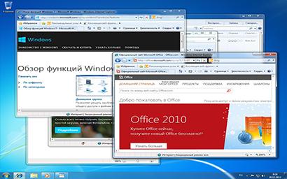 Клавиша с эмблемой Windows+D