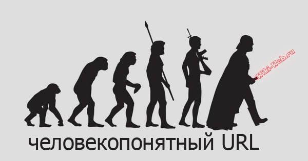 ЧПУ - человекопонятный url