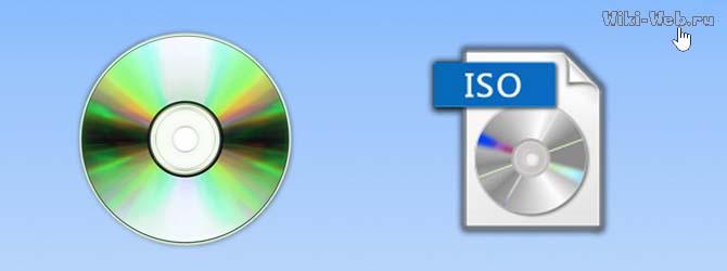 создать образ диска
